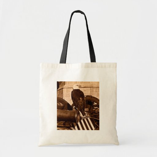 Old Abe-The Wisconsin War Eagle Stereoview ca 1875 Tote Bags