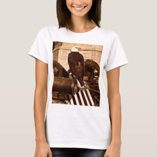 Old Abe The Wisconsin War Eagle Stereoview ca 1875 T-Shirt