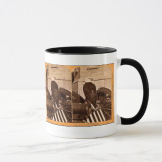 Old Abe, The Wisconsin War Eagle- Stereoview Mug