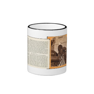 Old Abe The Wisconsin War Eagle- Stereoview Mug
