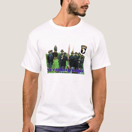 Old Abe Wisconsin Civil War Screaming Eagle T-Shirt