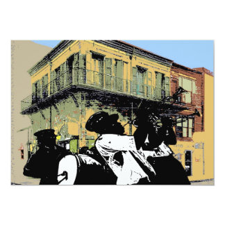 Old Absinthe House Brass Band, French Quarter, New Card