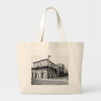 Old Absinthe House, New Orleans: 1906 Large Tote Bag