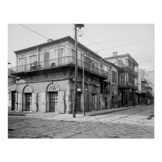 Old Absinthe House, New Orleans: 1906 Poster
