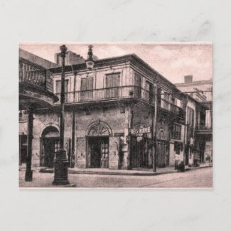Old Absinthe House New Orleans postcard