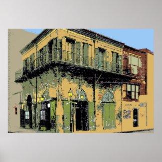 Old Absinthe House print