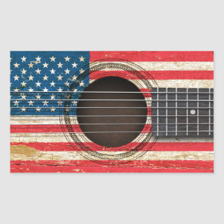 american flag acoustic guitar gifts on zazzle. Black Bedroom Furniture Sets. Home Design Ideas