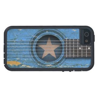 Old Acoustic Guitar with Somali Flag Case For iPhone SE/5/5s