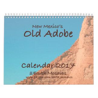 Old Adobe Calendar 2017