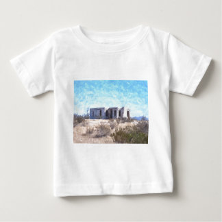 Old Adobe in Watercolor Baby T-Shirt