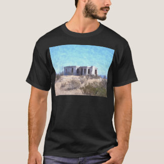 Old Adobe in Watercolor T-Shirt