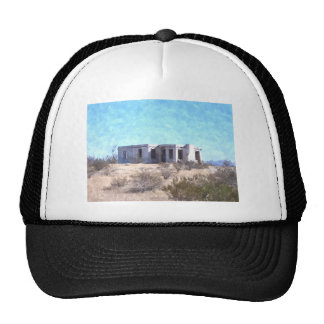 Old Adobe in Watercolor Trucker Hat