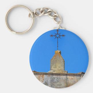 Old adobe mission  key chain
