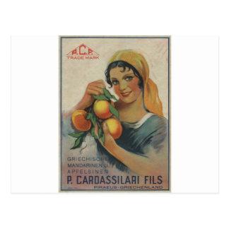 Old Advert Cardassilari Fils Postcard