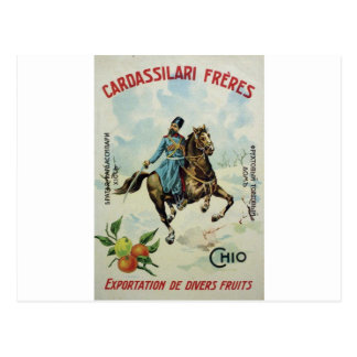 Old Advert Cardassilari Freres Postcards