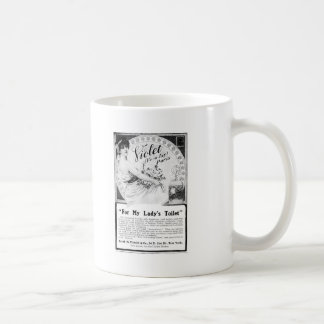 Old Advert: For My Lady's Toilet Coffee Mug
