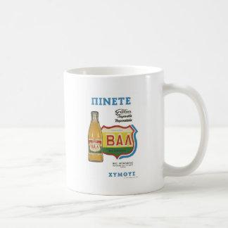 Old Advert Greece Drink Juice Coffee Mug