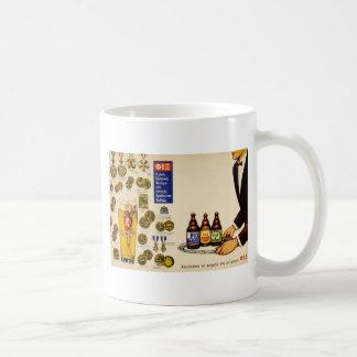 Old Advert Greece Fix Lager Beer Mug