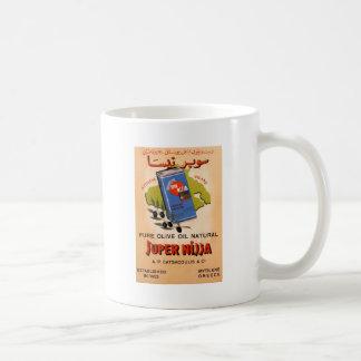 Old Advert Greece Mytilene Lesvos Olive Oil Coffee Mugs