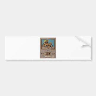 Old Advert Greece Peugeot Car Bumper Sticker