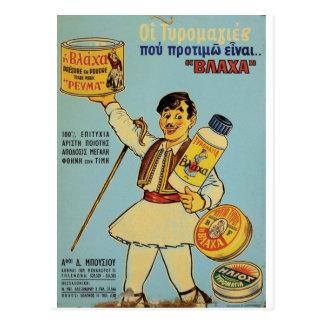 Old Advert Greece Vlacha Postcard