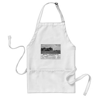 Old Advert Hotel Chamberlin Adult Apron