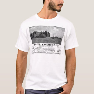 Old Advert Hotel Chamberlin T-Shirt