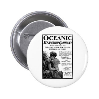 Old Advert Oceanic Steamship Company Pins