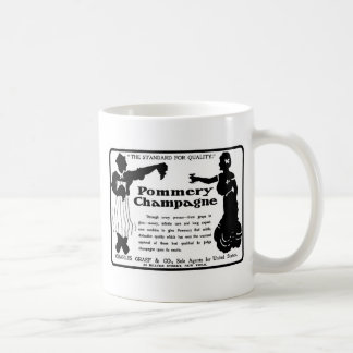Old Advert Pommery Champagne Coffee Mugs
