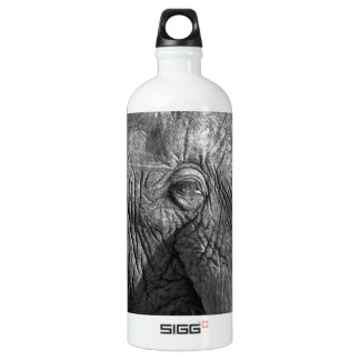Old African Elephant Water Bottle