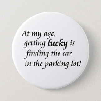 Old age humor over the hill novelty joke gifts button