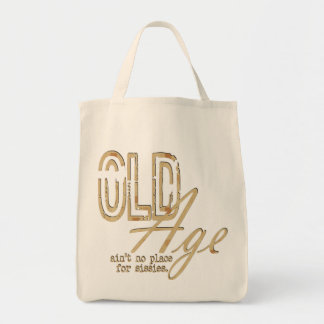 Old Age - Organic Grocery Tote Tote Bag