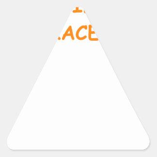 old age triangle sticker