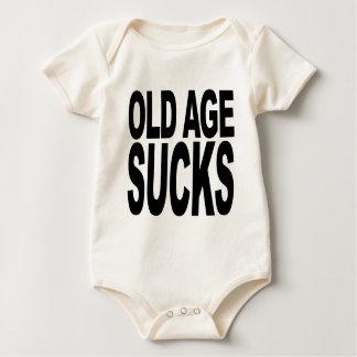 Old Age Sucks Baby Bodysuit