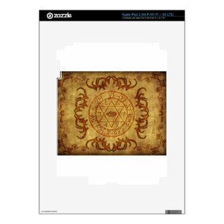 old age wicca- protective decal for iPad 3
