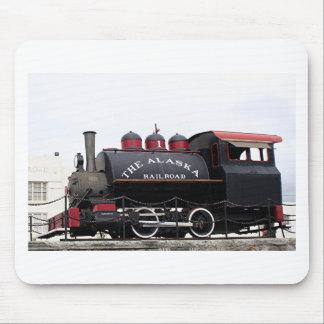 Old Alaska Railroad steam engine, Anchorage, AK Mouse Pad