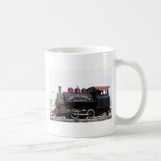 Old Alaska Railroad steam engine, Anchorage, AK Coffee Mugs