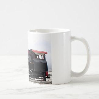 Old Alaska Railroad steam engine, Anchorage, AK Classic White Coffee Mug