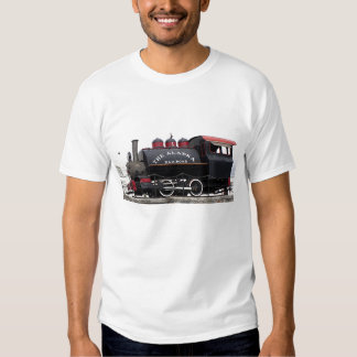 Old Alaska Railroad steam engine, Anchorage, AK Tee Shirts
