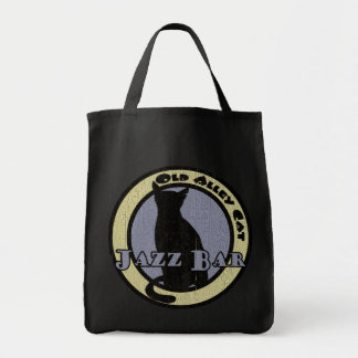 Old Alley Cat Jazz Bar Tote Bag