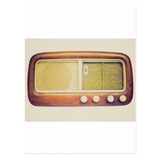 Old AM radio tuner Post Cards
