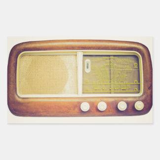 Old AM radio tuner Sticker