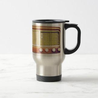 Old AM radio tuner Travel Mug