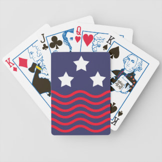 old america bicycle playing cards