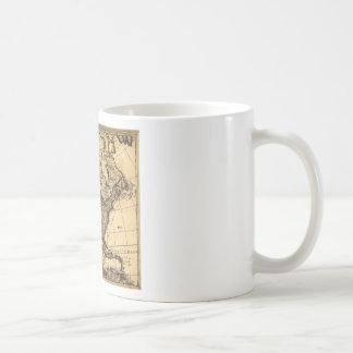 Old American Map Mug