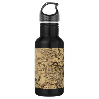 Old American Map 18oz Water Bottle