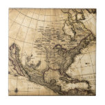 Old American Map Tiles