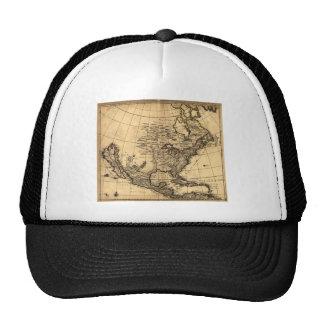 Old American Map Trucker Hat