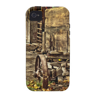 Old Amish Wagon iPhone 4 Covers