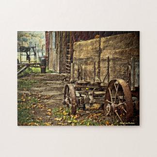 Old Amish Wagon Puzzle